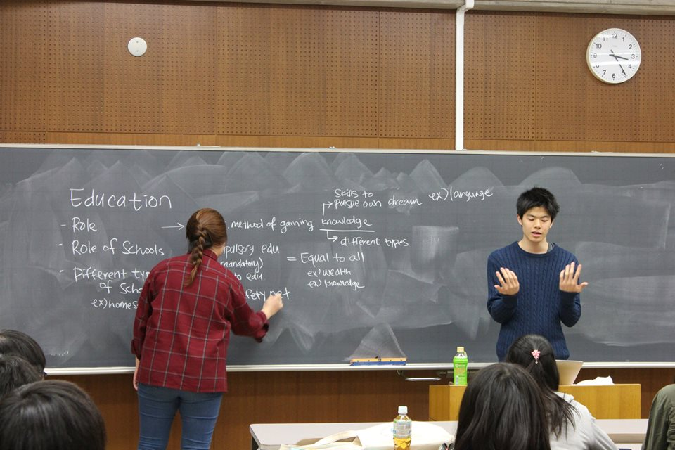 Global Leader Debate Workshop in Japan