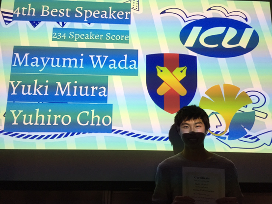4th Best Speakerおめでとう!!!!