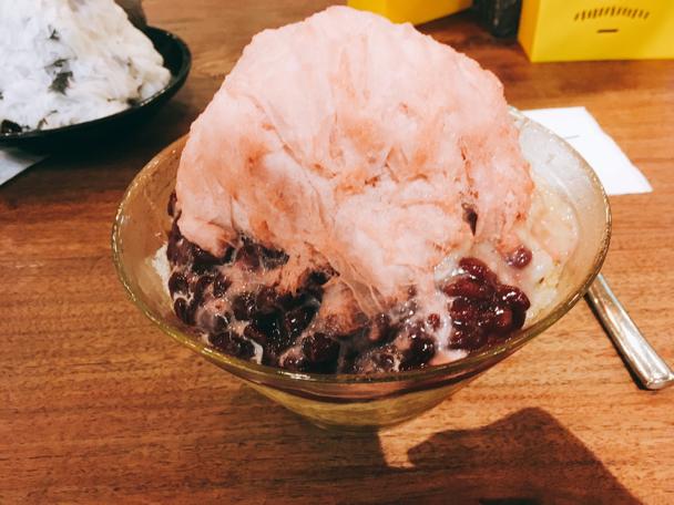Ice Monster 期間限定のあずきピーナッツなんちゃら味。多分日本にはない😚
