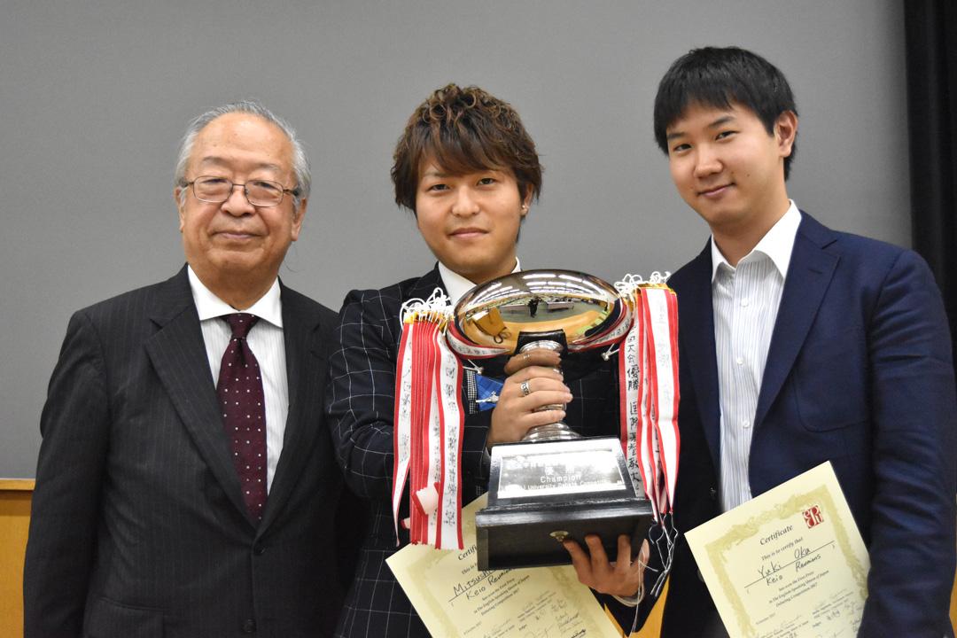 優勝おめでとうございます!